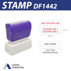 1-2 Line Stamp (Small)