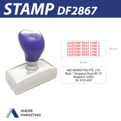 Address Stamp (DF2867)