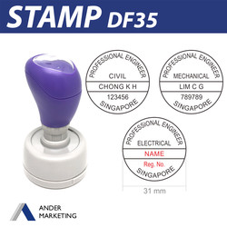 Professional Engineer Stamp (DF35)